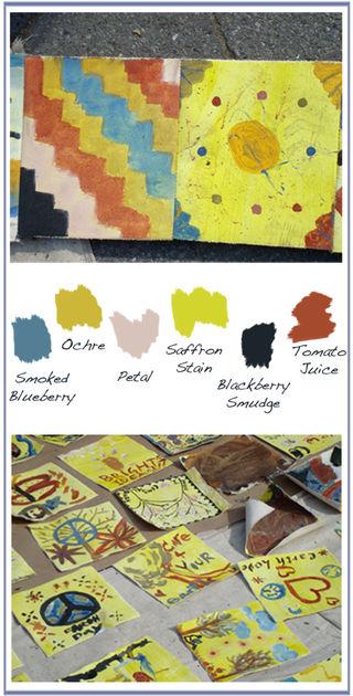 Children's paintins