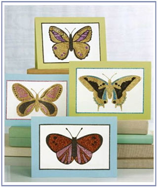 Ms butterfly cards